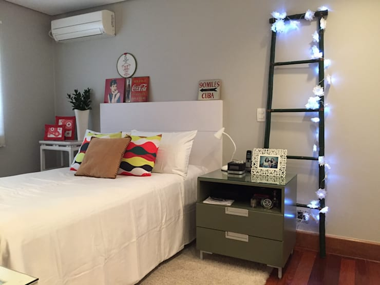 Bedroom by AMMA PROJETOS,