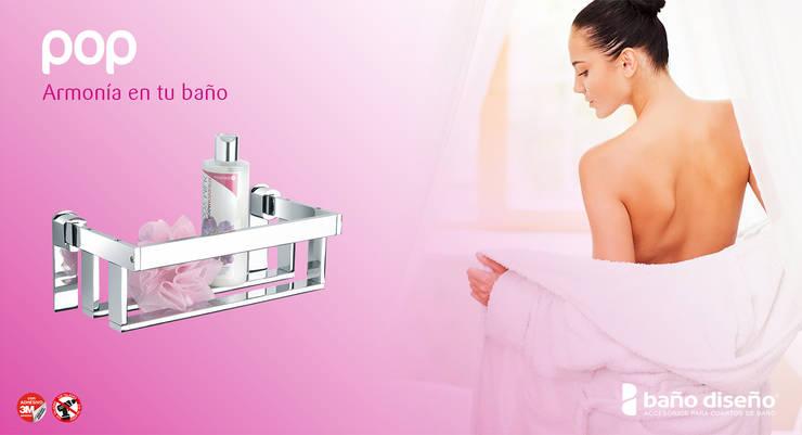Colección POP - accesorios de baño adhesivos - Baño Diseño : Baños de estilo  de Baño Diseño