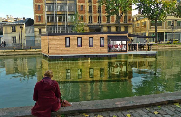 Bars & clubs by Floating Habitats T/A AQUASHELL