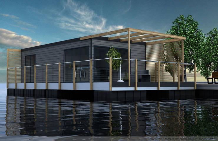Houses by Floating Habitats T/A AQUASHELL