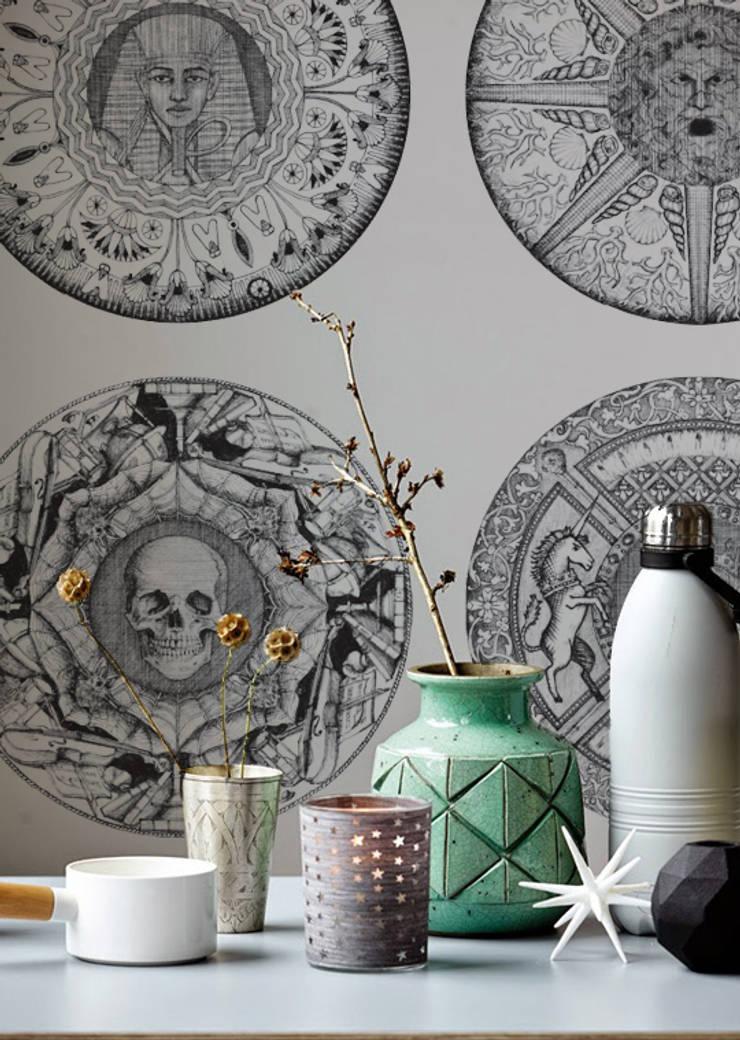 Helen Strevens - Iris:  Walls & flooring by Tektura Wallcoverings