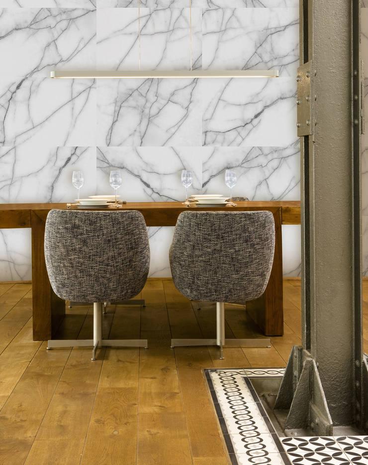 Marble:  Walls & flooring by Tektura Wallcoverings
