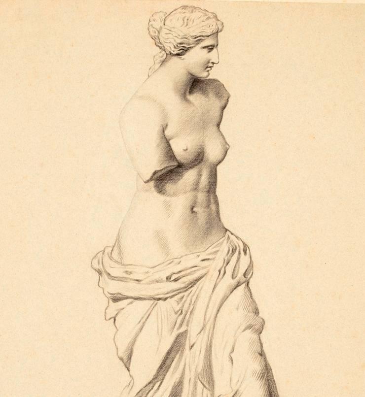 Kardo Findlater - Venus de Milo:  Walls & flooring by Tektura Wallcoverings