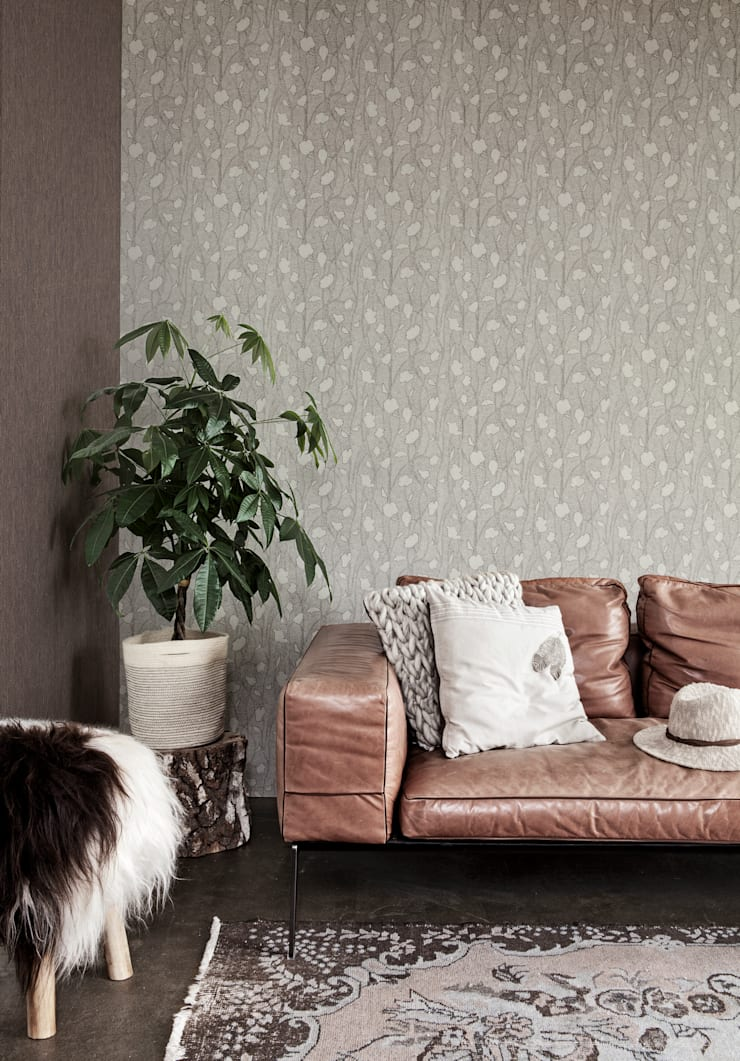 Nomadics:  Walls & flooring by Tektura Wallcoverings