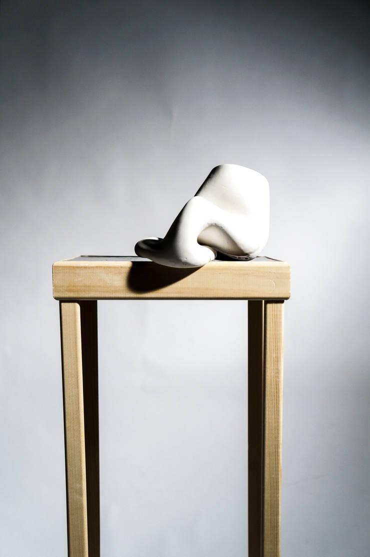 Birdy Vase:  Keuken door Studio Pascal Smelik, Modern