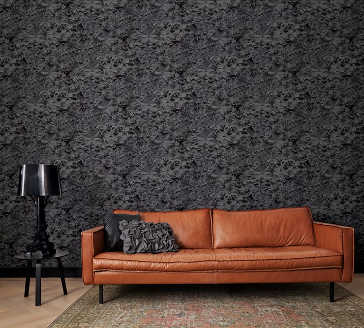 Стены и пол в . Автор – Tektura Wallcoverings