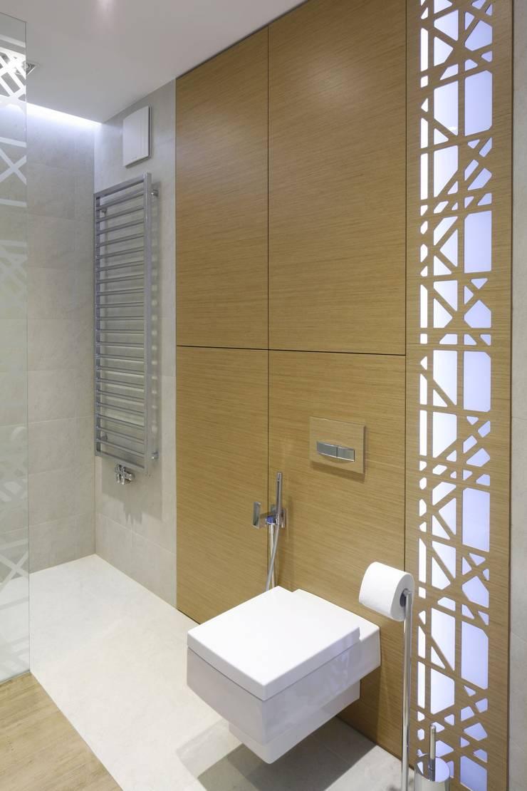 Mieszkanie : styl , w kategorii Łazienka zaprojektowany przez Bm2 pracownia architektury