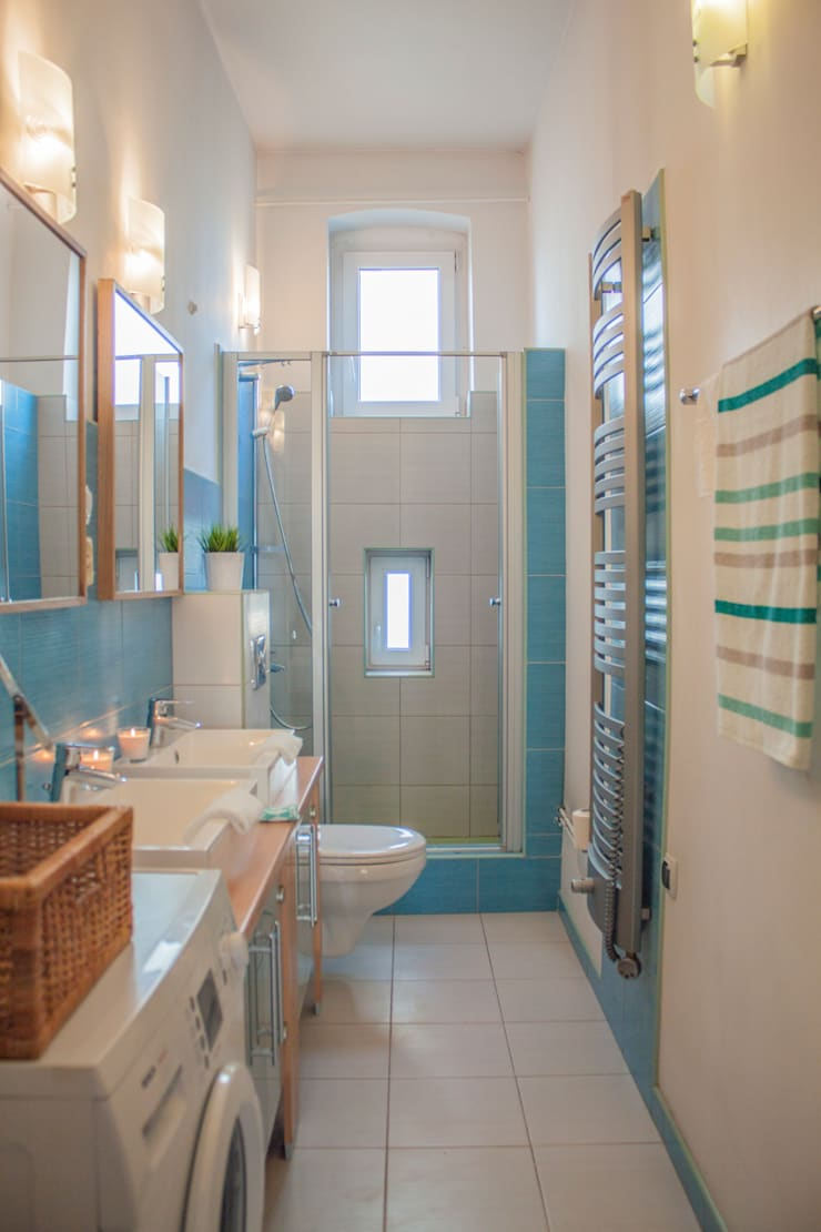Bathroom by Studio projektowe SUZUME, Modern