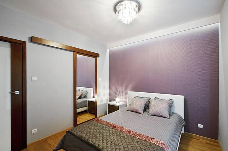 Mieszkanie do wypoczynku: styl , w kategorii Sypialnia zaprojektowany przez ZAWICKA-ID Projektowanie wnętrz