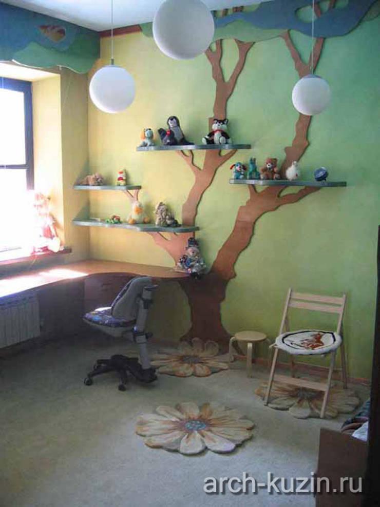 Коттедж под Троицком: Детские комнаты в . Автор – Архитектор Михаил Кузин