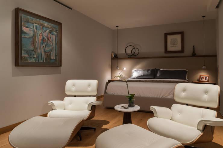 غرفة نوم تنفيذ Faci Leboreiro Arquitectura