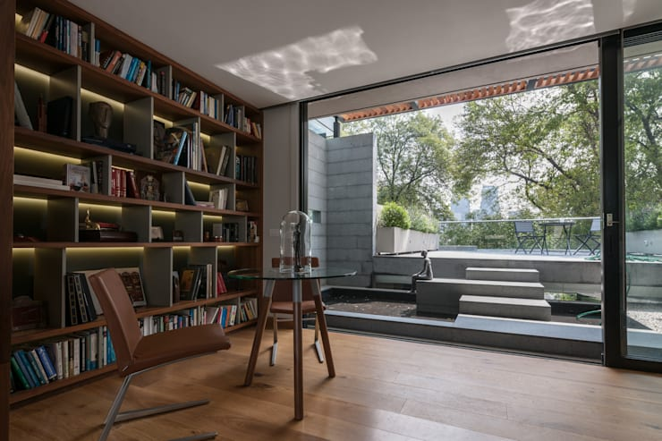 بلكونة أو شرفة تنفيذ Faci Leboreiro Arquitectura