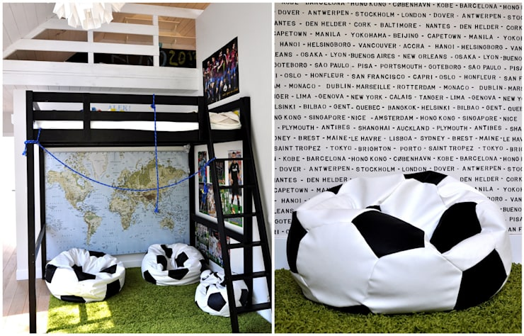 Dom pod Warszawą: styl , w kategorii Pokój dziecięcy zaprojektowany przez MAKAO home