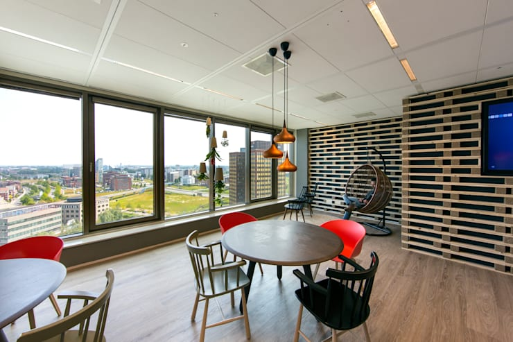 Pointlogic:  Kantoorgebouwen door MHS Ontwerpt, Eclectisch
