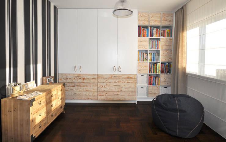 Pokój marynistyczny: styl , w kategorii Pokój dziecięcy zaprojektowany przez MAKAO home