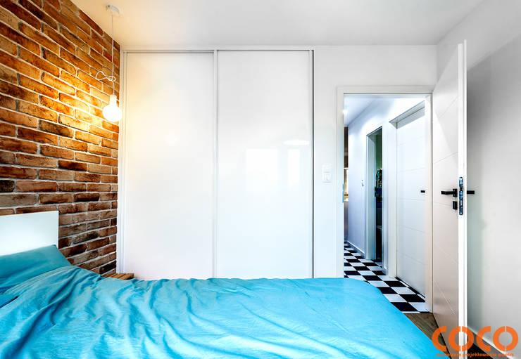 Bedroom by COCO Pracownia projektowania wnętrz