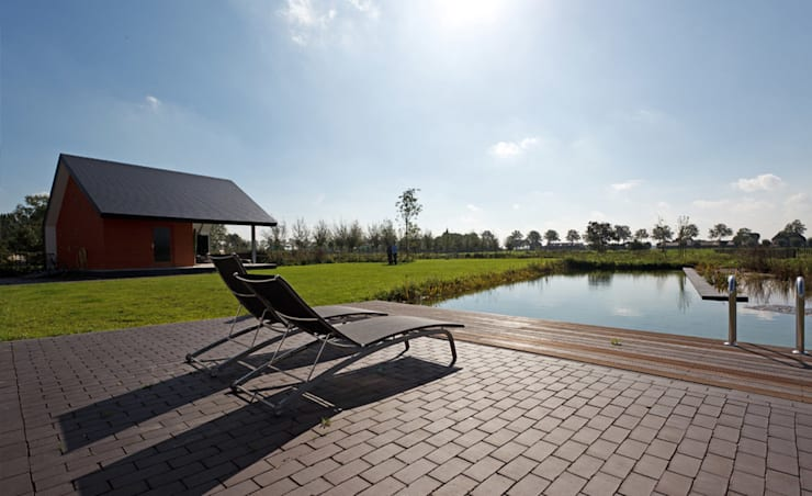 Garden by  Ariens cs, Architecten & Ingenieurs, Modern