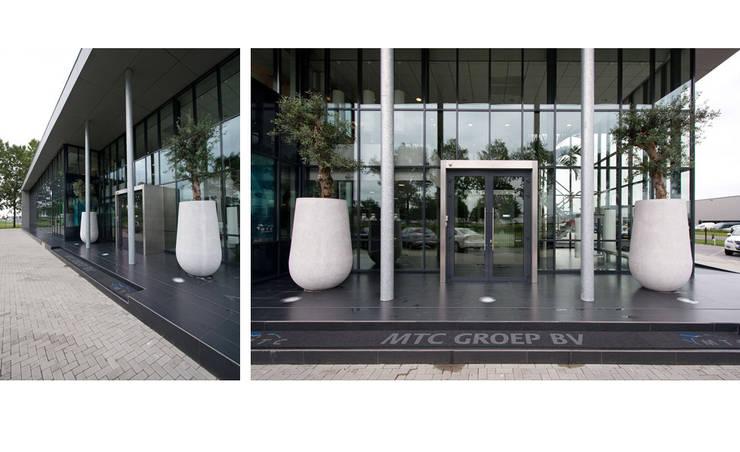 Nieuwbouw MTC-Groep te Oss:  Kantoorgebouwen door  Ariens cs, Architecten & Ingenieurs, Modern