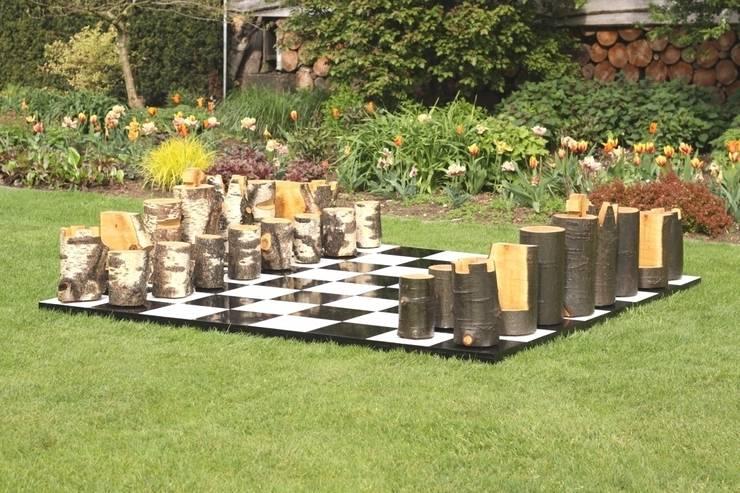 Houten spellen:  Tuin door OntHout