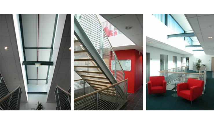 Nieuwbouw GVU werkplaats te Utrecht:  Kantoorgebouwen door  Ariens cs, Architecten & Ingenieurs