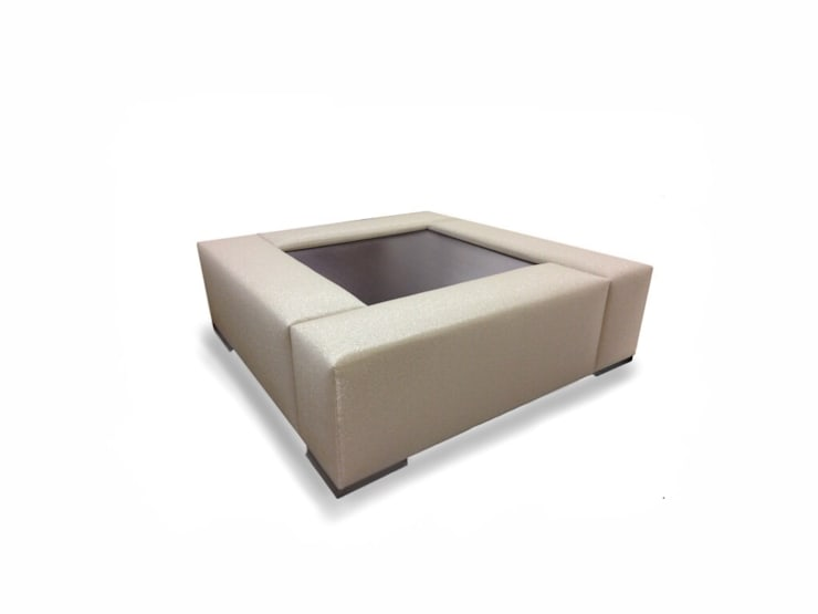 Bespoke table:  Living room by Chandler Upholstery