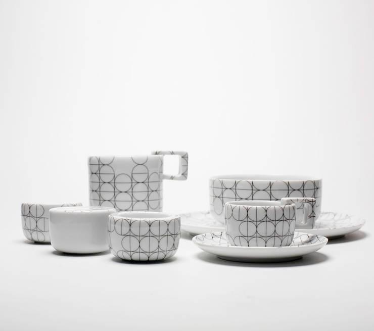 Singlet set - skandynawski: styl , w kategorii Kuchnia zaprojektowany przez mopsdesign