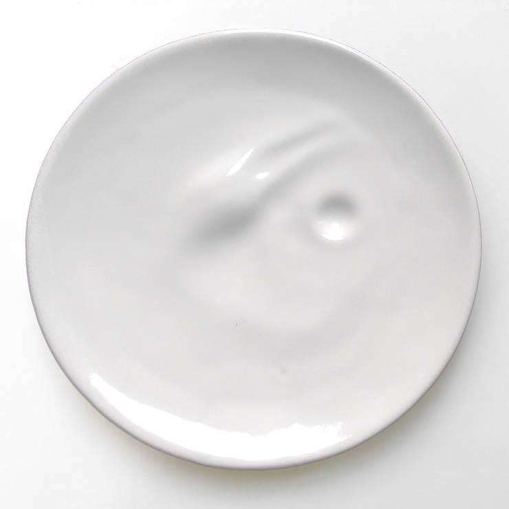 Cream: styl , w kategorii Kuchnia zaprojektowany przez mopsdesign