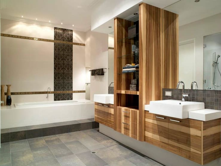 Bathrooms by Moda Interiors, Perth, Western Australia:  Bathroom by Moda Interiors