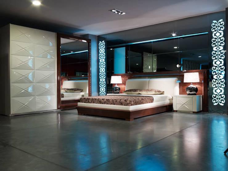 Bosart Mobilya Sanayi Ve Ticaret Ltd. Şti. – Eros yatak odası : modern tarz Yatak Odası