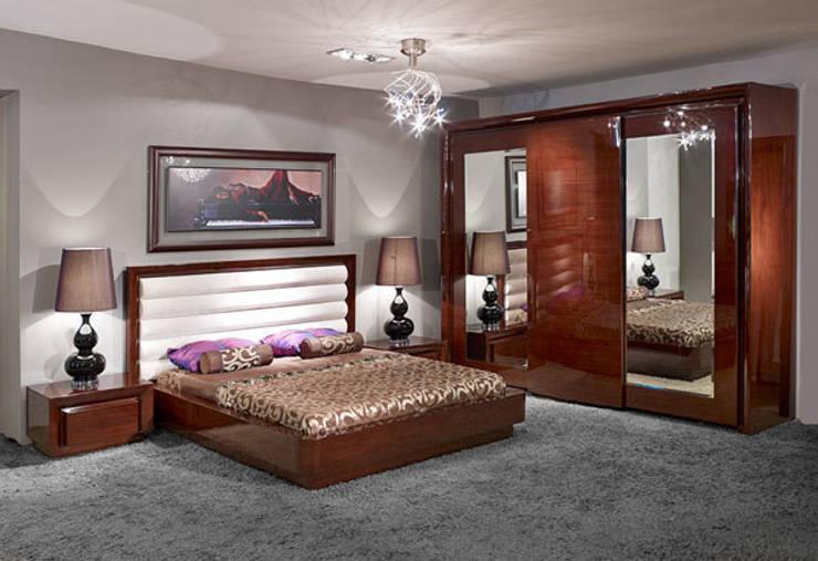 Bosart Mobilya Sanayi Ve Ticaret Ltd. Şti. – Salvi yatak odası : modern tarz Yatak Odası