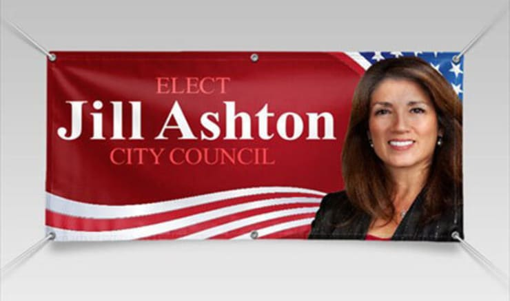Design Custom Political and Election Campaign Banners Online with Fast Shipping Option :   by Banner Buzz