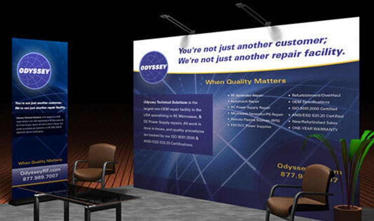 Design Custom Trade Show Banners or Trade Show Display just at £6.99:   by Banner Buzz