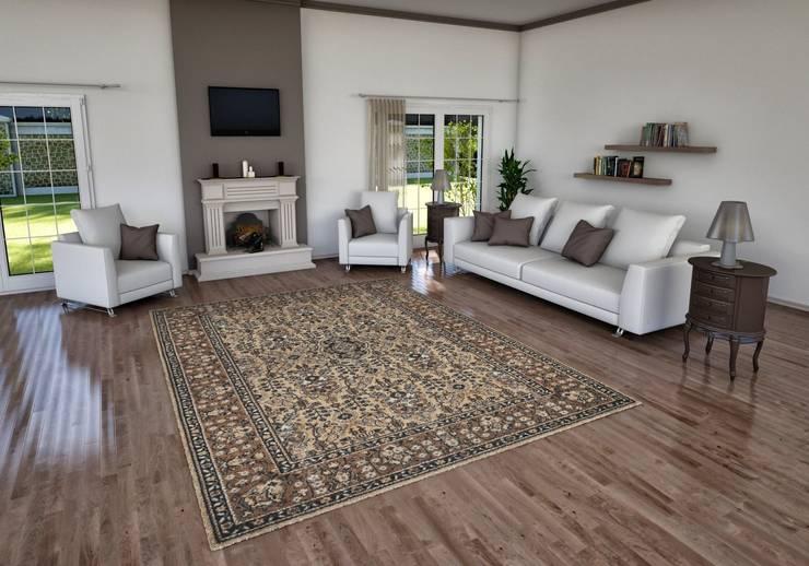 cihat özdemir – oturma odası tasarımı:  tarz