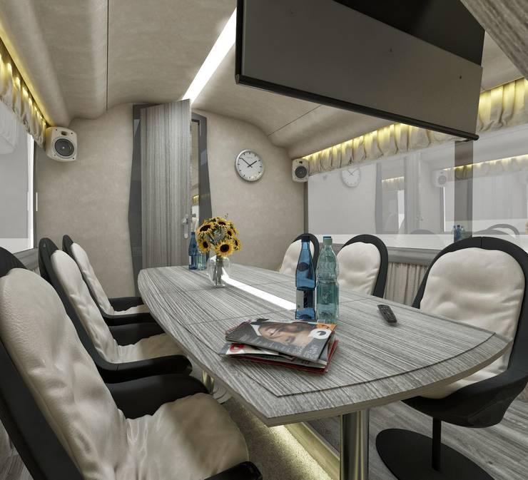 cihat özdemir – VIP Araç tasarımı toplantı alanı:  tarz