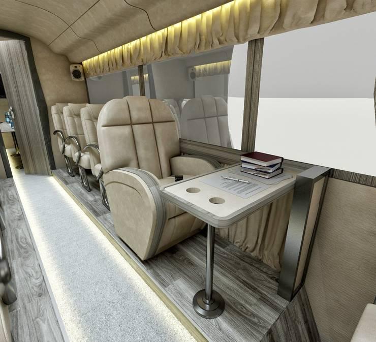 cihat özdemir – VIP Araç tasarımı oturma alanı:  tarz
