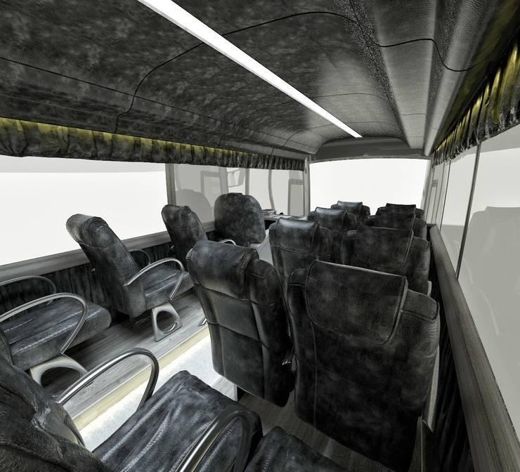 cihat özdemir – VIP Araç tasarımı koltuklar:  tarz