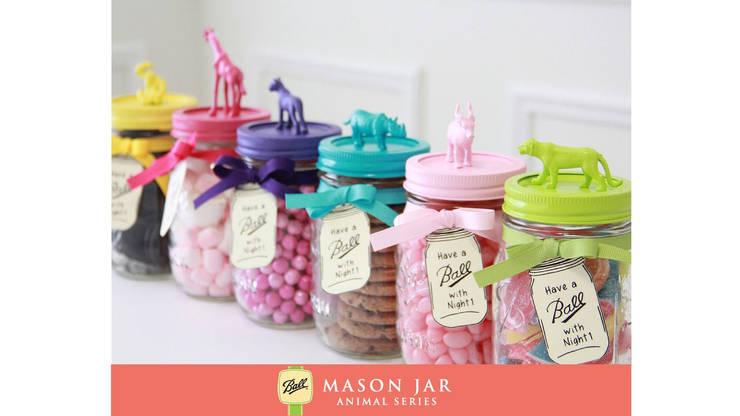 Mason jar voorraadpotten:  Keuken door Mason Jar Kitchen