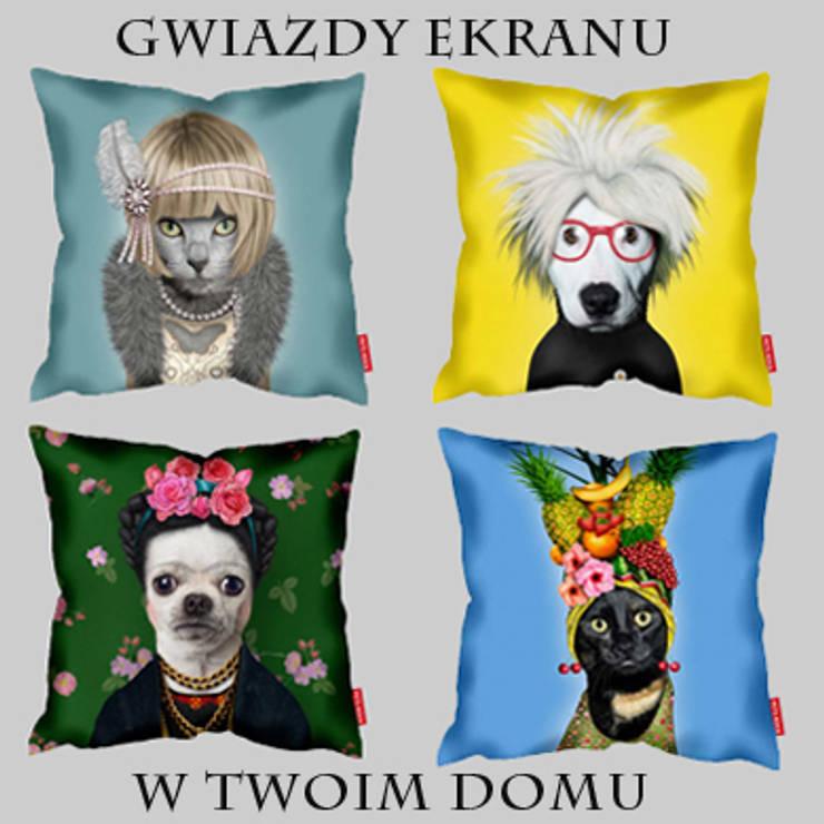 Poduszki Takkoda: styl , w kategorii Salon zaprojektowany przez Decodore basic