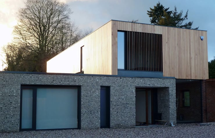 The Cheeran House:   by John Pardey Architects