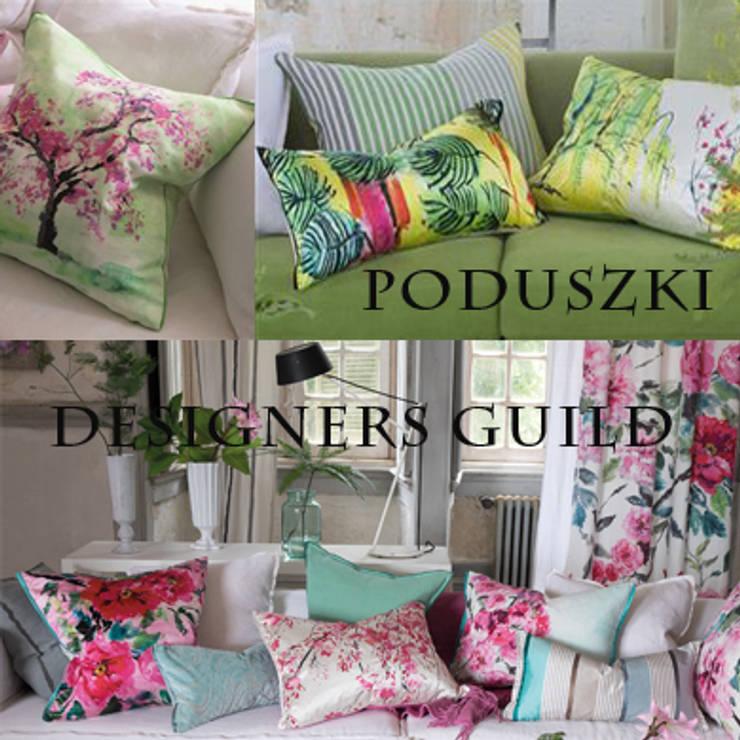 Poduszki dekoracyjne Designers Guild: styl , w kategorii Salon zaprojektowany przez Decodore basic