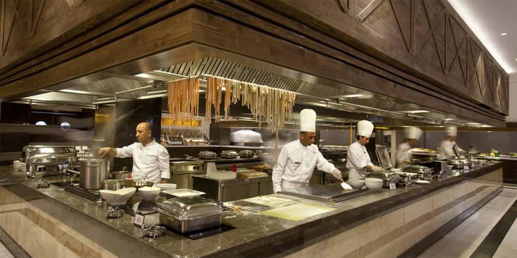 Kalya Interior Design – Ana Restoran:  tarz Yeme & İçme