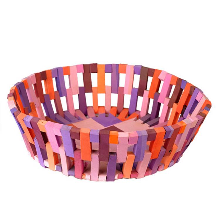Flip-Flop basket recycled green  : modern  door Diederik Schneemann , Modern