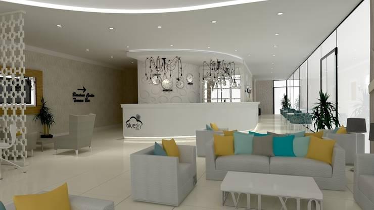 Kalya Interior Design – Blue Sky Hotel - Kiris/Antalya:  tarz Oteller