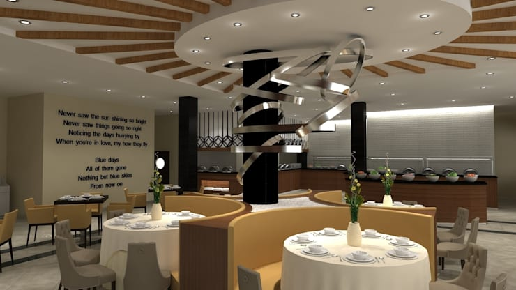 Kalya Interior Design – Blue Sky Hotel – Kiris/Antalya:  tarz Oteller