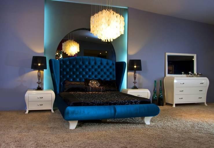 Bosart Mobilya Sanayi Ve Ticaret Ltd. Şti. – Simao  yatak odası : modern tarz Yatak Odası