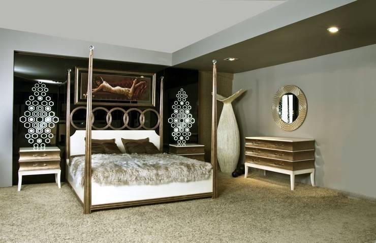 Bosart Mobilya Sanayi Ve Ticaret Ltd. Şti. – Savoy yatak odası : modern tarz Yatak Odası