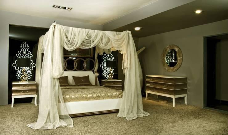 Bosart Mobilya Sanayi Ve Ticaret Ltd. Şti. – Savoy cibinlikli yatak odası: modern tarz Yatak Odası