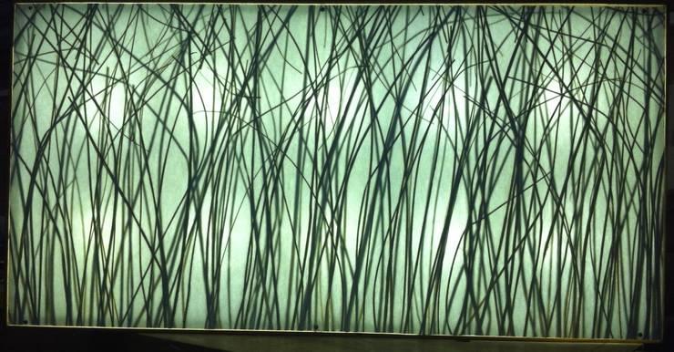 gras display:  Woonkamer door studio picus