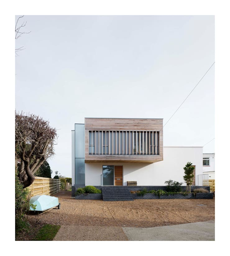 The Pooley House:   by John Pardey Architects