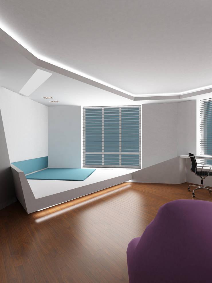 Спальня: Спальни в . Автор – (DZ)M Интеллектуальный Дизайн
